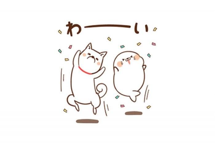 【LINE無料スタンプ】『ゲスくま&毒舌あざらし×ソフトバンク』が登場、配布期間は1月1日まで