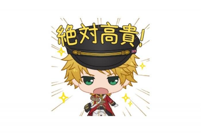 【LINE無料スタンプ】『千銃士 高貴な☆ボイス付きスタンプ』が登場、配布期間は5月9日まで