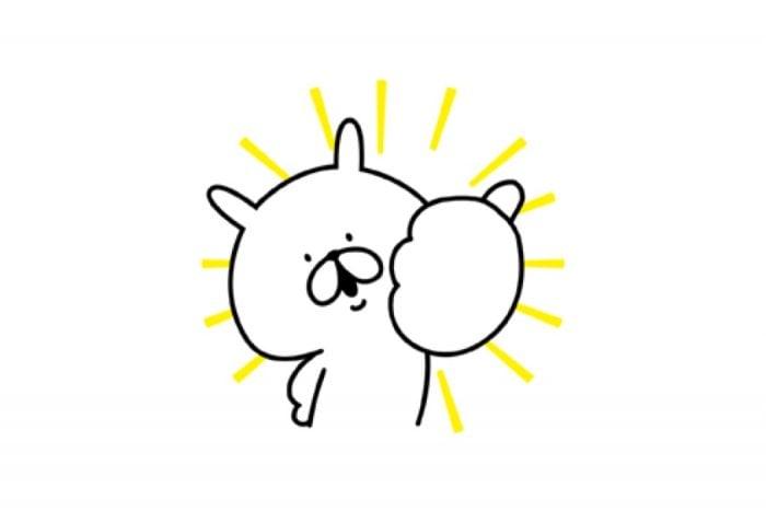 【LINE無料スタンプ】『ゆるうさぎ×洋服の青山コラボスタンプ誕生』が登場、配布期間は3月12日まで