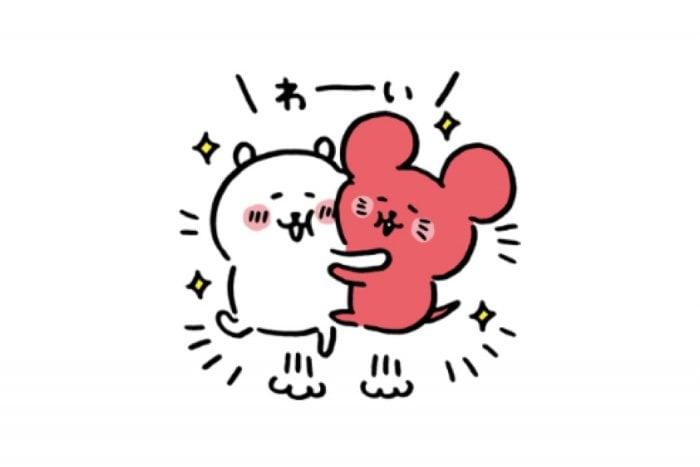 【LINE無料スタンプ】『自分ツッコミくま×チューイチ★』が登場、配布期間は4月2日まで