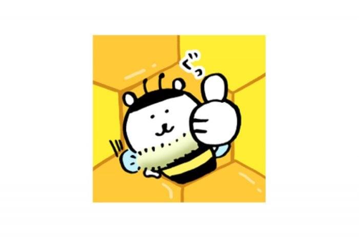 【LINE無料スタンプ】『自分ツッコミくま×山田養蜂場』が登場、配布期間は4月16日まで