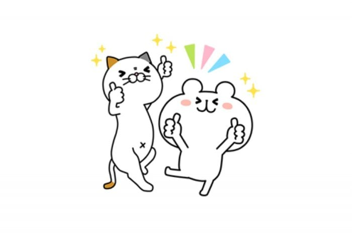 【LINE無料スタンプ】『タマ川 ヨシ子(猫)第14弾×ゆるくま』が登場、配布期間は5月28日まで