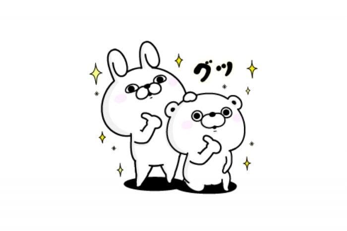 【LINE無料スタンプ】『うさぎ&くま100%×ライザップ』が登場、配布期間は5月28日まで