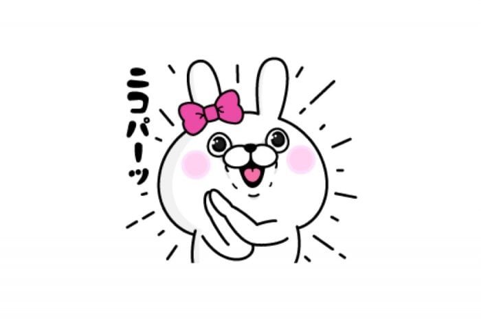 【LINE無料スタンプ】『うさぎ100%×トークCARE』が登場、配布期間は7月16日まで
