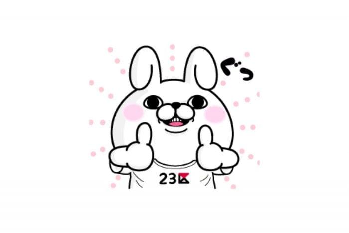 【LINE無料スタンプ】『うさぎ100%×オンワード・クローゼット』が登場、配布期間は9月17日まで