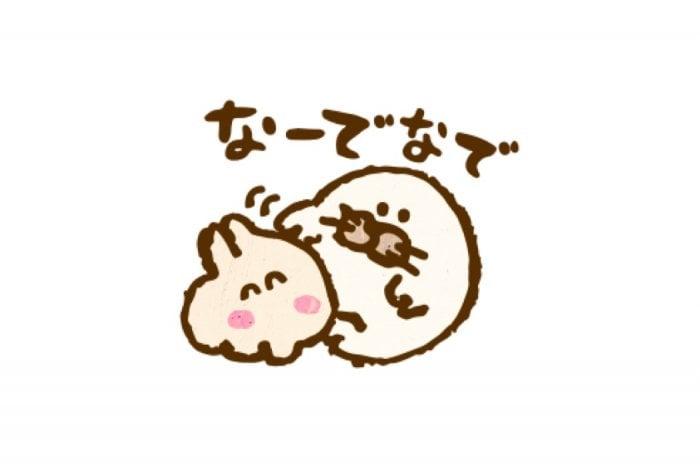 【LINE無料スタンプ】『なでなでしてほしいウサギ×タウンワーク』が登場、配布期間は10月1日まで