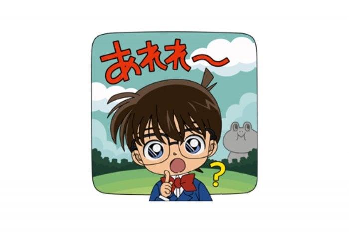 【LINE無料スタンプ】『バブル2×名探偵コナンコラボ限定スタンプ』が登場、配布期間は10月3日まで