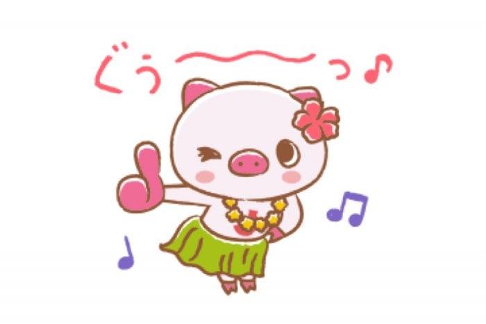 【LINE無料スタンプ】『ハワイ大好き!じぇいとんスタンプ』が登場、配布期間は2月11日まで