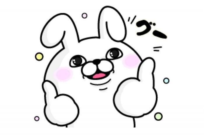 【LINE無料スタンプ】『うさぎ100%×万田発酵』が登場、配布期間は2月4日まで