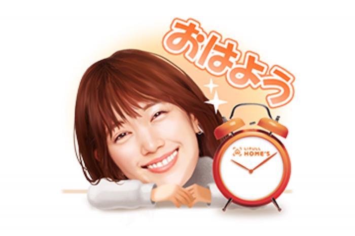 【LINE無料スタンプ】『本田翼&ホームズくんスタンプ』が登場、配布期間は3月11日まで