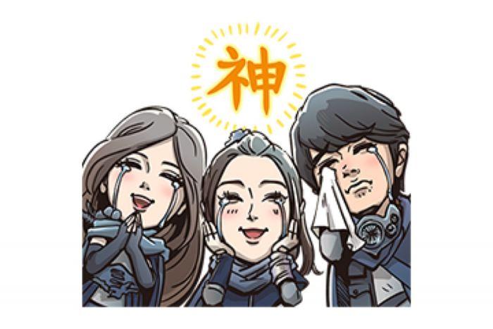 【LINE無料スタンプ】『新CM ギガ国 ボイス付きスタンプ』が登場、配布期間は4月1日まで