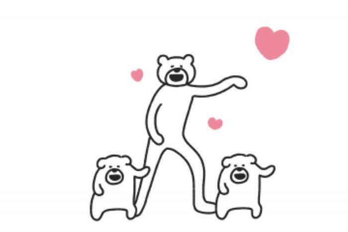【LINE無料スタンプ】『けたたましく動くクマ×クロックス』が登場、配布期間は5月6日まで