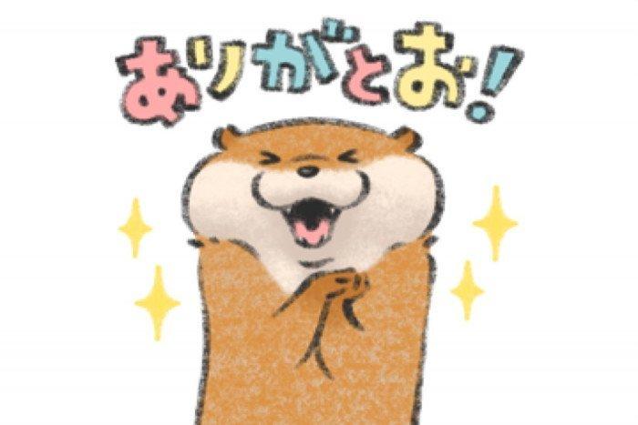 【LINE無料スタンプ】『LINEバイト×可愛い嘘のカワウソ』が登場、配布期間は5月1日まで