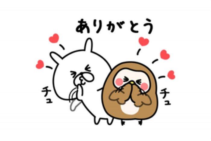 【LINE無料スタンプ】『ゆるうさぎ×フク子さん&こふく』が登場、配布期間は6月3日まで