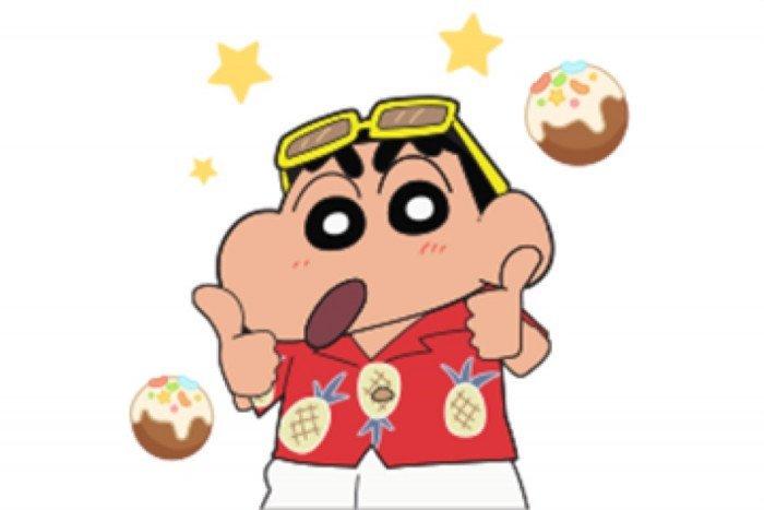 【LINE無料スタンプ】『POP2 & 映画クレヨンしんちゃん』が登場、配布期間は5月25日まで