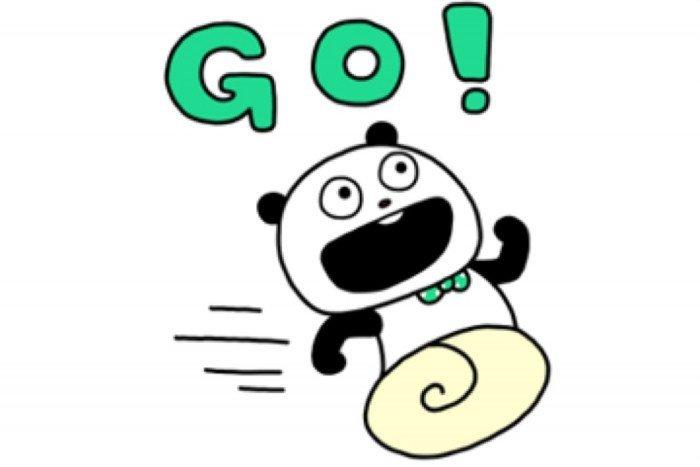【LINE無料スタンプ】『ごきげんぱんだ×SHOPPING GO』が登場、配布期間は6月12日まで