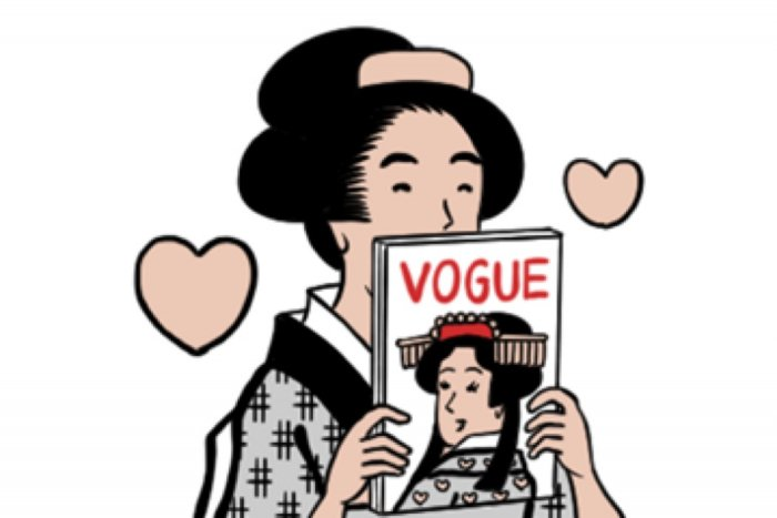 【LINE無料スタンプ】『ヴォーグと山田全自動の浮世絵スタンプ』が登場、配布期間は7月15日まで
