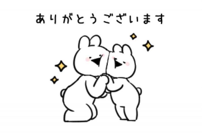 【LINE無料スタンプ】『すこぶる動くウサギ×TikTok』が登場、配布期間は9月15日まで