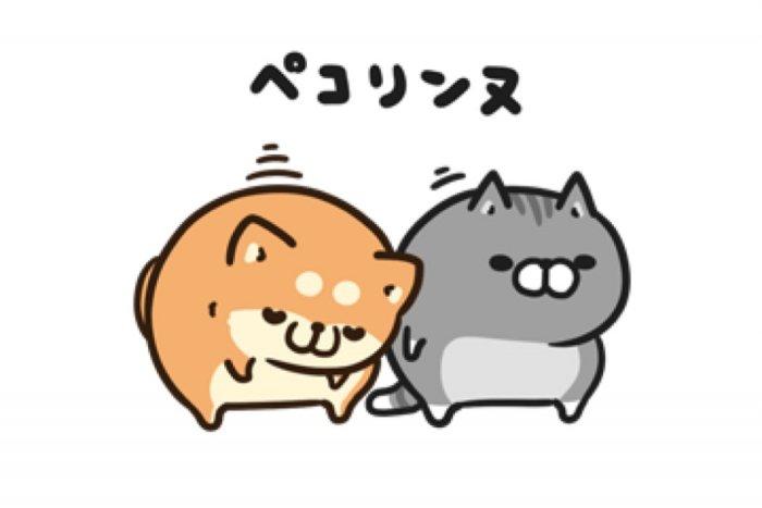 【LINE無料スタンプ】『ボンレス犬&猫×ライブドアニュース』が登場、配布期間は7月24日まで