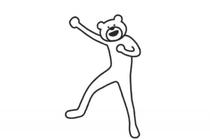 【LINE無料スタンプ】『選べるニュース×けたたましく動くクマ』が登場、配布期間は7月31日まで