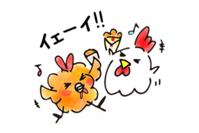 【LINE無料スタンプ】『Lチキ10周年記念スタンプ』が登場、配布期間は9月30日まで