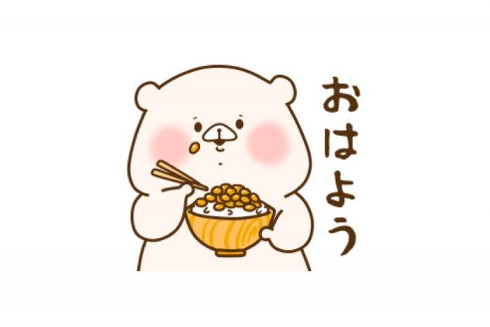 【LINE無料スタンプ】『ともだちはくま × ミツカン』が登場、配布期間は11月28日まで