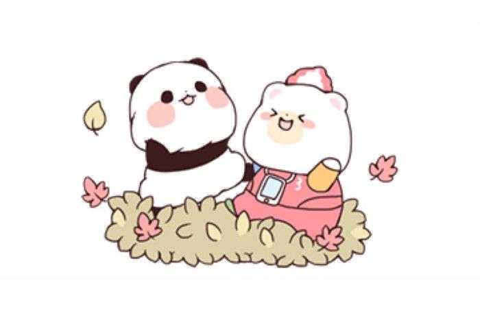 【LINE無料スタンプ】『★ゆるりんぱんだ × クマホン★』が登場、配布期間は11月18日まで