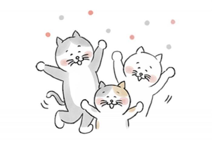 【LINE無料スタンプ】『北欧、暮らしの道具店のネコちゃんスタンプ』が登場、配布期間は3月1日まで