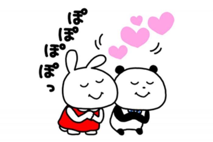 【LINE無料スタンプ】『ミミちゃん×ごきげんぱんだ』が登場、配布期間は1月13日まで