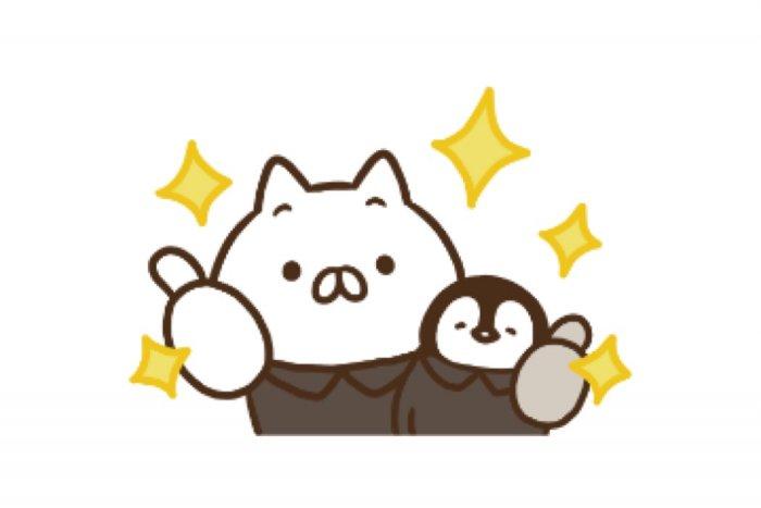 【LINE無料スタンプ】『ねこぺん日和×ライザップ』が登場、配布期間は11月9日まで