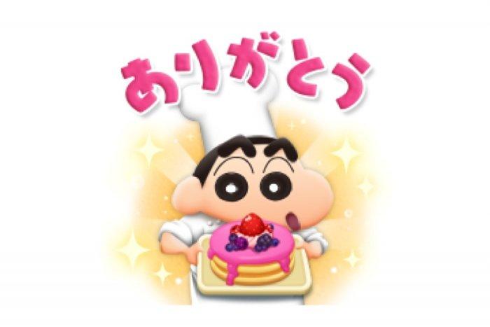 【LINE無料スタンプ】『LINEシェフxクレヨンしんちゃんコラボ』が登場、配布期間は12月8日まで