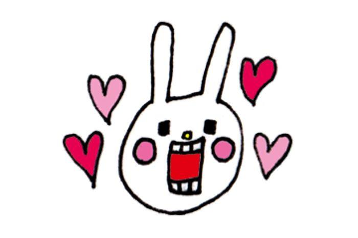【LINE無料スタンプ】『ウサギのウー×Qoo10限定セレクション』が登場、配布期間は3月22日まで