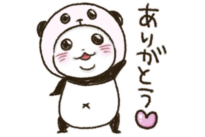 【LINE無料スタンプ】『パンダinぱんだ×haruシャンプー』が登場、配布期間は5月3日まで