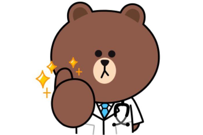 【LINE無料スタンプ】『BROWN × LINEドクター』が登場、配布期間は6月30日まで
