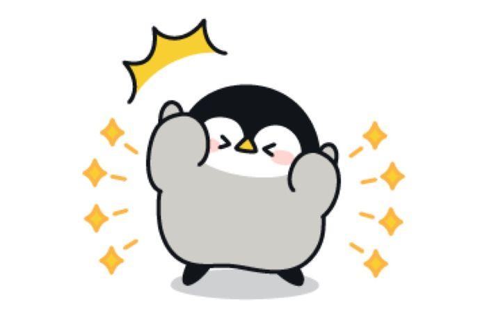 【LINE無料スタンプ】『心くばりペンギン×プロたん&サリー』が登場、配布期間は4月19日まで