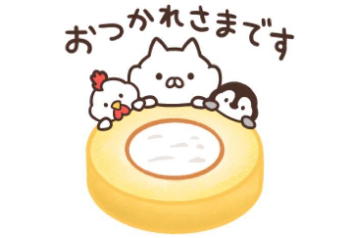 【LINE無料スタンプ】『ねこぺん日和×ローソン』が登場、配布期間は6月21日まで