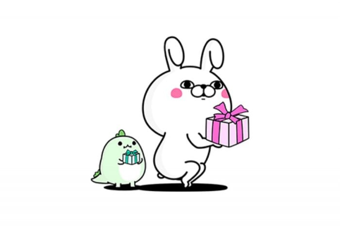 【LINE無料スタンプ】『うさぎ100%×LINE STORE』が登場、配布期間は5月10日まで