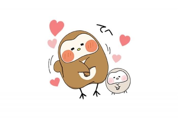 【LINE無料スタンプ】『ぽふぽふフク子さんと、こふく☆』が登場、配布期間は9月11日まで