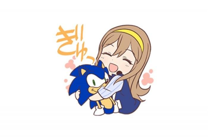 【LINE無料スタンプ】『ラブライブ!×SEGA 花丸&ソニック』が登場、配布期間は10月2日まで