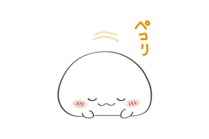 【LINE無料スタンプ】『おもちちゃん 第2弾!』が登場、配布期間は8月28日まで