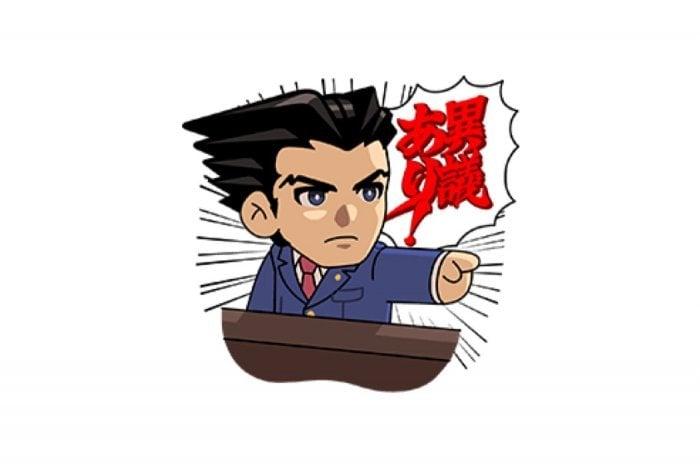 【LINE無料スタンプ】『LINE レンジャー × 逆転裁判』が登場、配布期間は9月30日まで