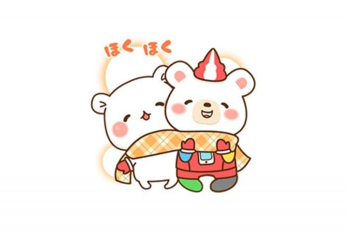 【LINE無料スタンプ】『★ゲスくまとクマホン★』が登場、配布期間は12月25日まで