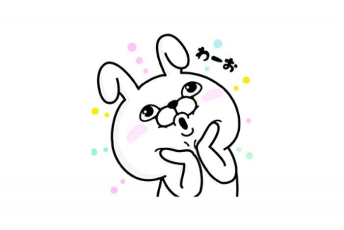 【LINE無料スタンプ】『うさぎ100% × ルトロン』が登場、配布期間は12月18日まで