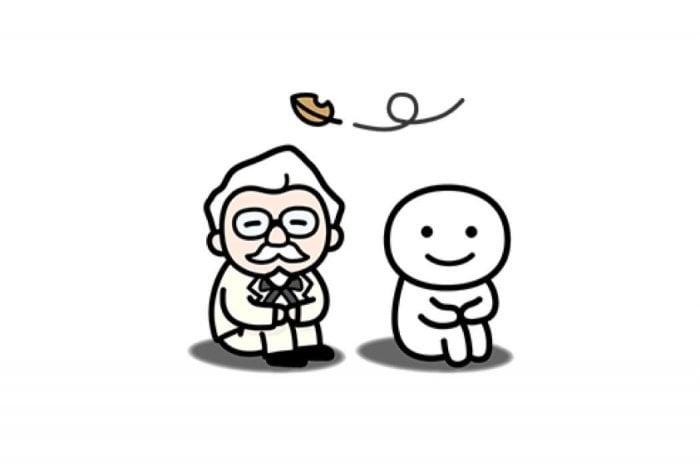 【LINE無料スタンプ】『カーネル×別にいいじゃんコラボスタンプ』が登場、配布期間は1月22日まで