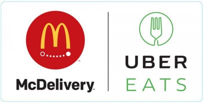 マクドナルド、公園でも宅配してくれる「UberEATS」を導入 都内33店舗から