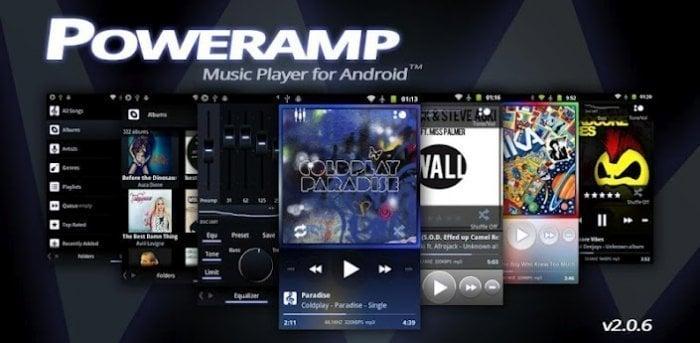 「Poweramp Music Player」がアップデート、通知ペインの表示・操作性の改善、サポートファイル形式の追加など