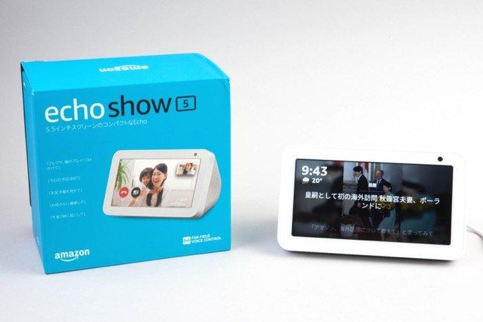 Amazon「Echo Show 5」レビュー、1万円切りスマートディスプレイの最適な使い道は?