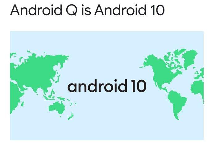 「Android Q」の正式名称は「Android 10」、お菓子のコードネームなしに ブランドデザインも変更