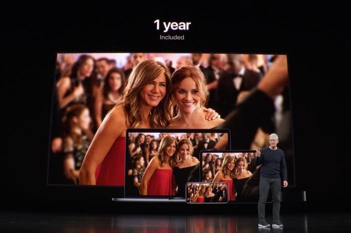 アップル、動画配信サービス「Apple TV+」を11月1日スタート 月額4.99ドル、iPhoneやiPadを買うと1年間無料