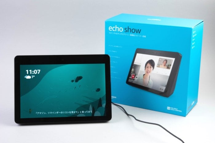 「Echo Show」レビュー、Amazonの画面付きスマートスピーカーの最適な用途とは?